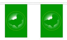 AFRICAN UNION BUNTING - 3 METRES 10 FLAGS